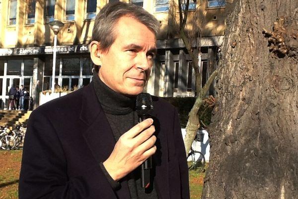 Eric Scherer, directeur de la prospective web et de la stratégie numérique du groupe France Télévisions.