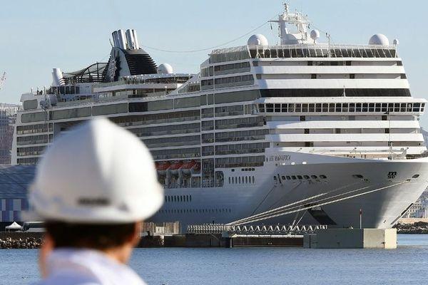 Les navires de croisière sont régulièrement à quai à Marseille
