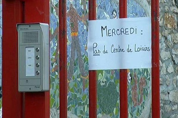 Marvejols (Lozère) - sans subvention municipale, le centre des loisirs ne pourra ouvrir ses portes et accueillir les enfants - septembre 2015.