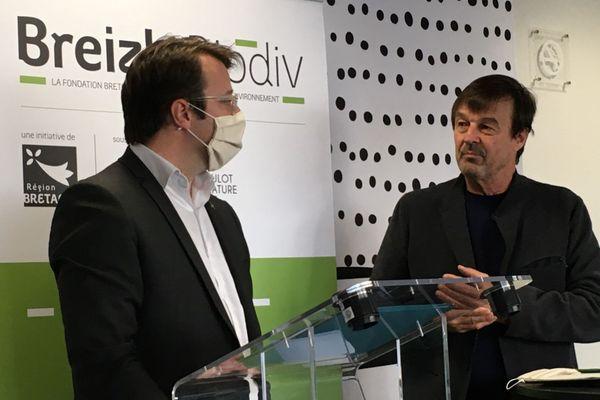 La Bretagne et la Fondation Hulot s'engagent pour la biodiversité