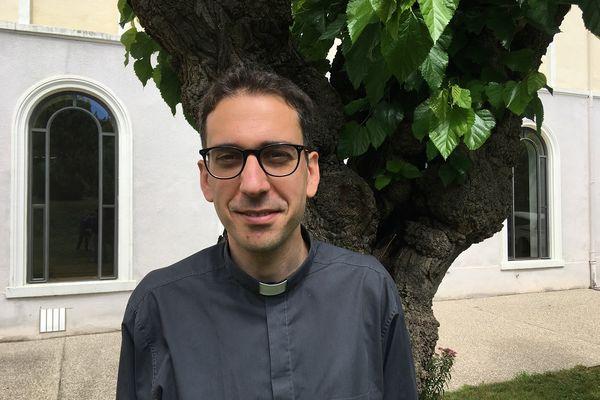 Adrien Dagois affichait une grande sérénité à quelques jours de son ordination à Lyon - 24/06/21