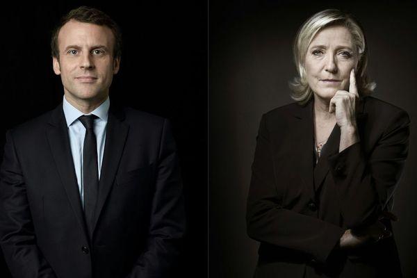 Emmanuel Macron est arrivé en tête (23,55%) devant Marine Le Pen (22,32%) à l'issue du 1er tour de l'élection présidentielle dimanche 23 avril 2017.