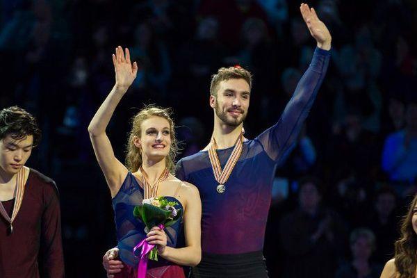 Le couple clermontois de danse sur glace Gabriella Papadakis et Guillaume Cizeron ont remporté à Boston leur 2e titre mondial en établissement un nouveau record de points.