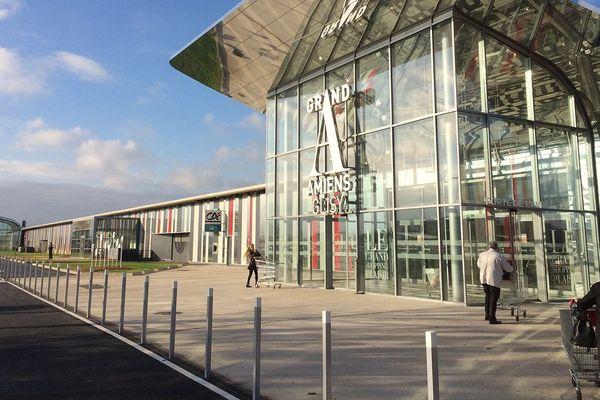A Glisy, près d'Amiens, le centre commercial Grand A