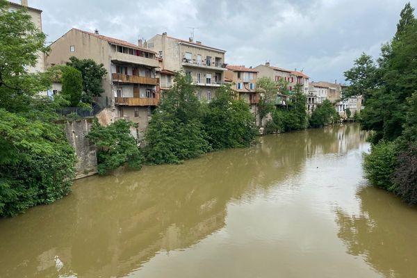 Les orages et les fortes précipitations de ces derniers jours pourraient avoir contribué à cet effondrement.