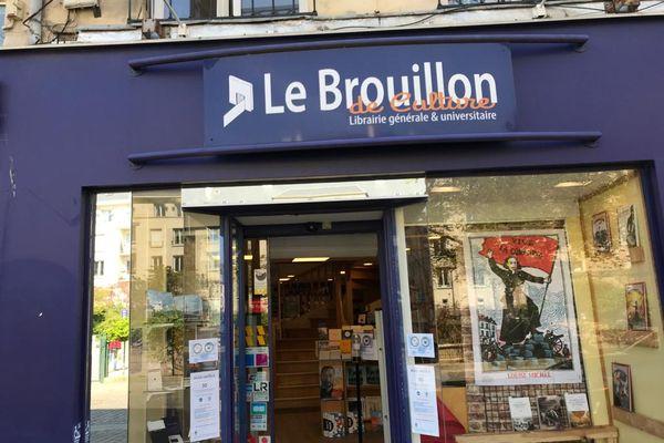 A Caen, le Brouillon de Culture participe à la 23e édition de la fête des librairies indépendantes, samedi 24 avril 2021.
