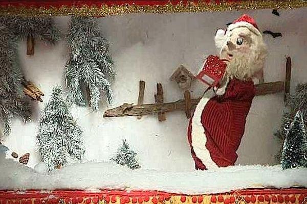 """Le père Noël, héros du """"Cadeau de Lucas"""" jusqu'au jeudi 24 décembre à Montpellier."""