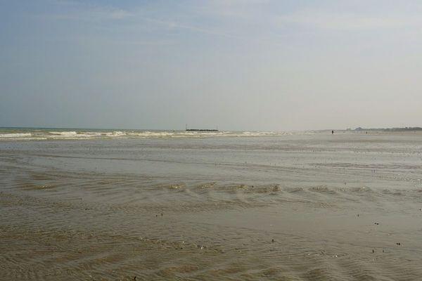 La plage de Malo-les-Bains.