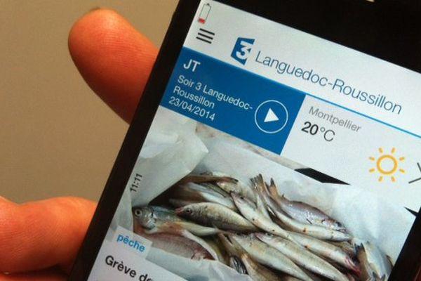 L'appli F3 regions consultable sur tablettes et smartphones depuis le 15 mars 2014