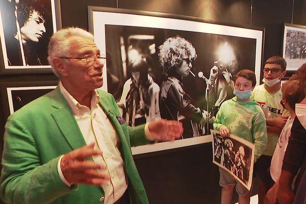 Jean-Marie Périer est l'invité d'honneur du Festival Confrontations Photos, à Gex dans l'Ain