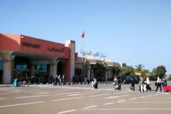 L'aéroport d'Agadir-Al-Massira (Maroc)