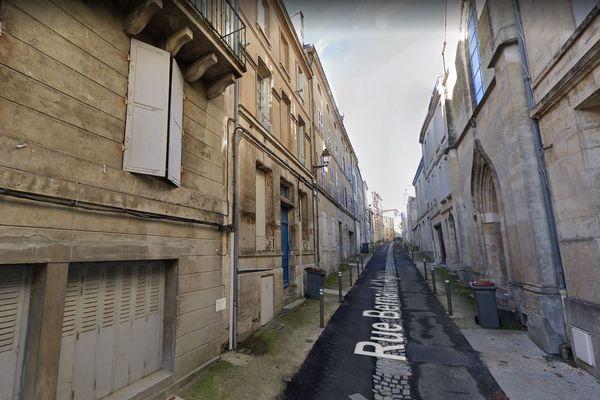 Rue Bernard d'Agesci à Niort