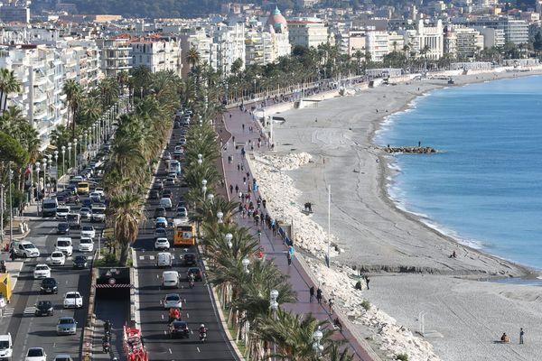 Nice, 5ème ville plus embouteillée de France, en 2019.