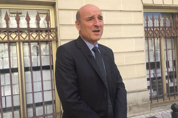 Nicolas Bessone, procureur de la République d'Orléans.