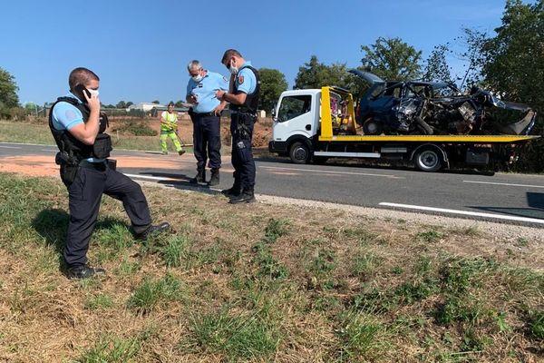 L'accident a eu lieu à Mayran entre Rodez et Rignac