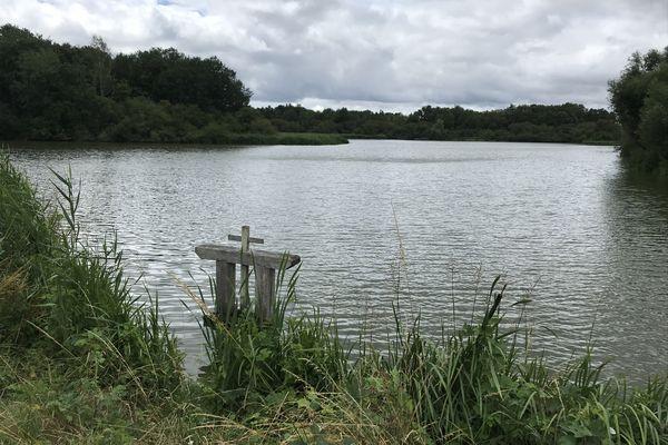 l'étang à Saint-Viâtre