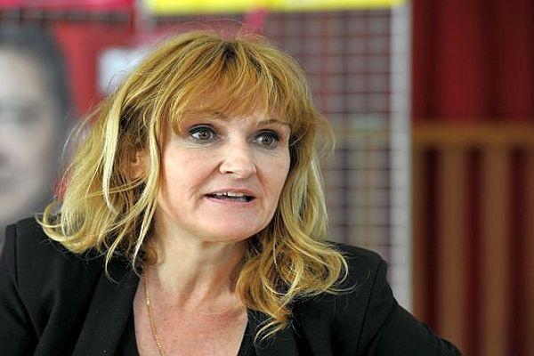 Marie-Pierre Vieu, porte-parole des communistes de la région Languedoc-Roussilllon/Midi-Pyrénées - archives.