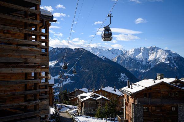 Station de ski de Verbier en Suisse
