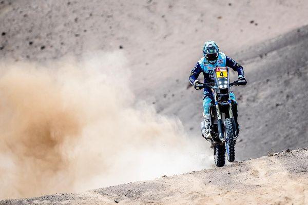 le Nordiste Adrien Van Beveren est troisième du Dakar 2019 à l'issue de la 8e étape.