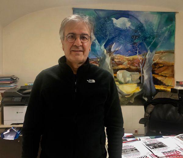 Michel Stefani, secrétaire fédéral du Parti communiste en Corse