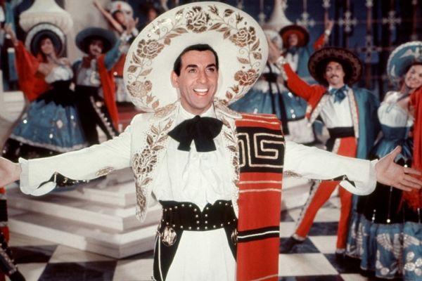 "Luis Mariano dans ""le chanteur de Mexico"""