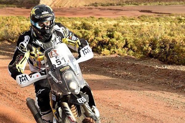 Le pilote manchois Pierre-Alexandre Renet participait cette année à son premier Dakar. Après une chute, il est contraint d'abandonner