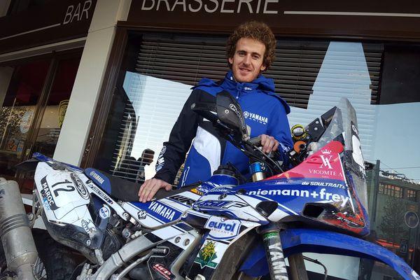Sur sa Yamaha, Xavier de Soutrait parcourra le Paraguay, l'Argentine et la Bolivie en janvier 2017