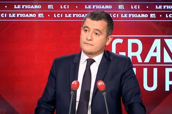 Gerald Darmanin sur le plateau du Grand Jury RTL / Le Figaro / LCI.