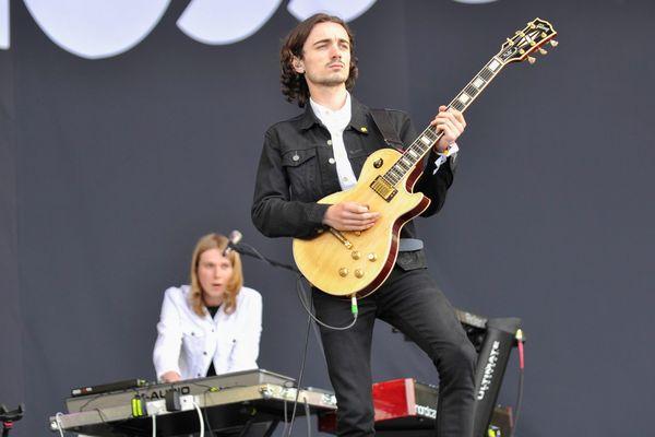"""le groupe anglais """"Blossom"""" au festival de Glastonbury"""