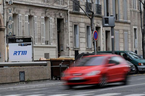 Illustration. Près de mille excès de vitesse ont été relevés dans Marseille pendant le week-end du 1er mai 2020.