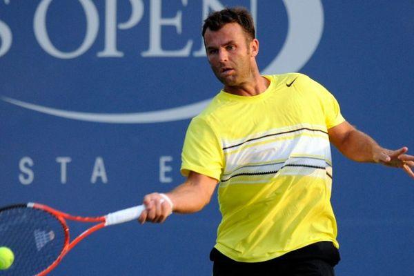 Marc Gicquel à l'US Open en 2011.