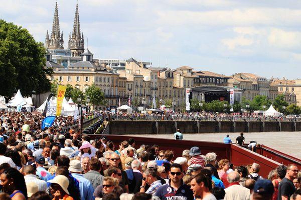 Plus de 500 000 personnes sont attendues pour la fête du fleuve à Bordeaux.