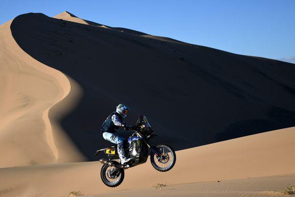 Adrien Van Beveren finit 6ème de l'étape 6 du Dakar 2021, en Arabie Saoudite.