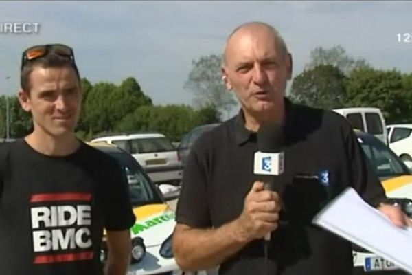 Julien Absalon, invité du 12/13 Lorraine a répondu aux questions de notre journaliste Jean-Pierre Petitcolas.