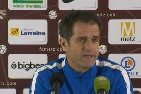 Philippe Hinschberger, entraîneur du FC Metz