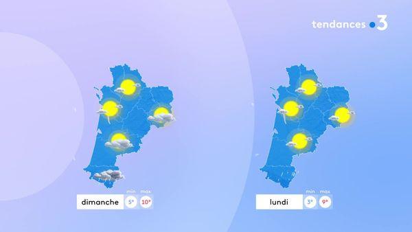 Le soleil sera de retour à partir de dimanche sauf sur les Pyrénées Atlantiques...
