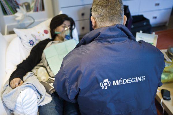 SOS Médecins à domicile, image d'illustration.