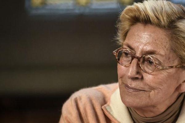 Isabelle Balkany, le 15 avril 2019 lors d'un conseil municipal de Levallois-Perret (Hauts-de-Seine). (STEPHANE DE SAKUTIN / AFP)