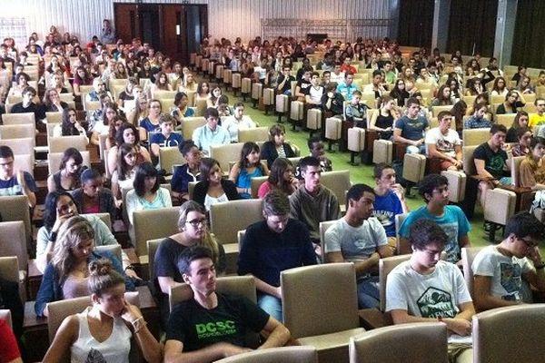 Rentrée pour les 1.200 étudiants en première année de Sciences et Nature à Paul Sabatier - Toulouse 3