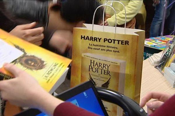 Harry Potter, la pièce ! Un événement dans les librairies bisontines