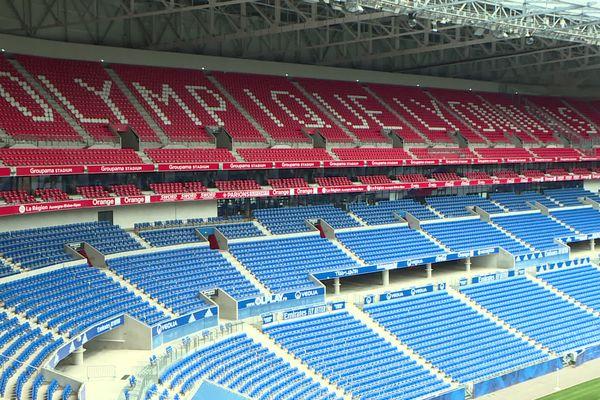 Football : pour sa reprise, Lyon veut plus de 10.000 spectateurs au stade