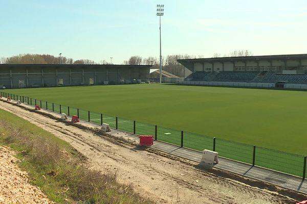 Le FC Chambly ne jouera pas dans son nouveau stade avant la fin de la saison