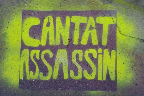 Lundi 12 mars 2018, Bertrand Cantat se produit à Montpellier, sur la scène du Rockstore. Certains protestent sa venue et ils le manifestent à travers des pochoirs sur le bitume.