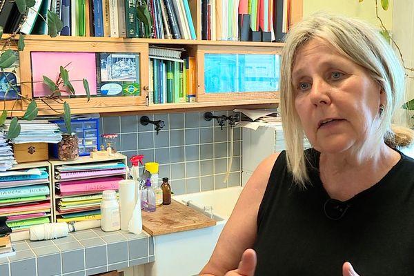 Maria-Luiza Pedrotti, du CNRS, est biologiste à l'Institut de la mer de Villefranche-sur-Mer.