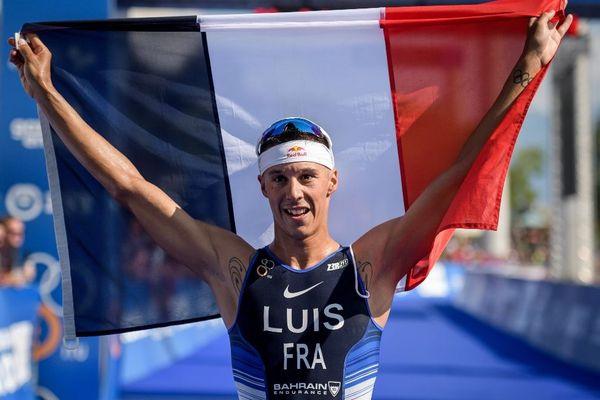 Vincent Luis sacré champion du monde de triathlon 2019 à Lausanne en Suissse