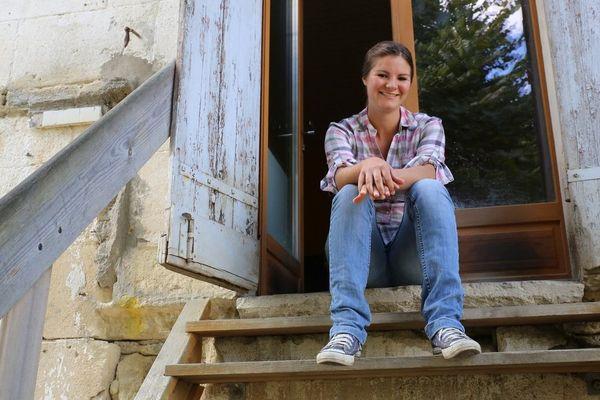C'est en avril 2011 que Bérénice a racheté l'exploitation familiale, elle n'avait alors que 21 ans.