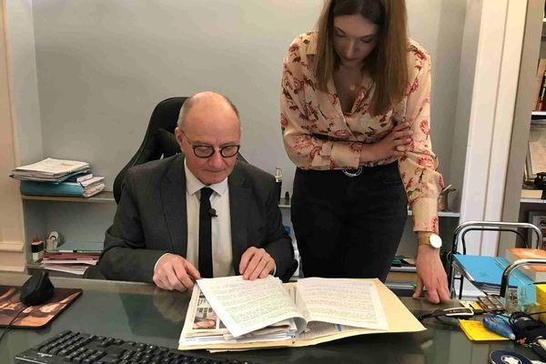 Maître Boulloud, l'avocat de la famille de Thomas Rauschkolb a relancé l'affaire en 2019 en demandant une autopsie du corps