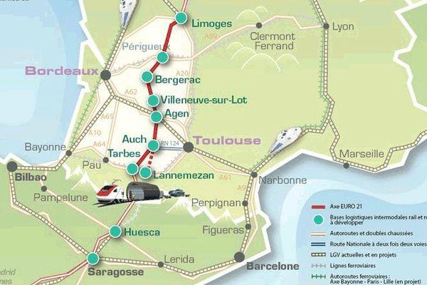Le projet d'aménagement de la RN 21 en 2x2 voies par EURO 21