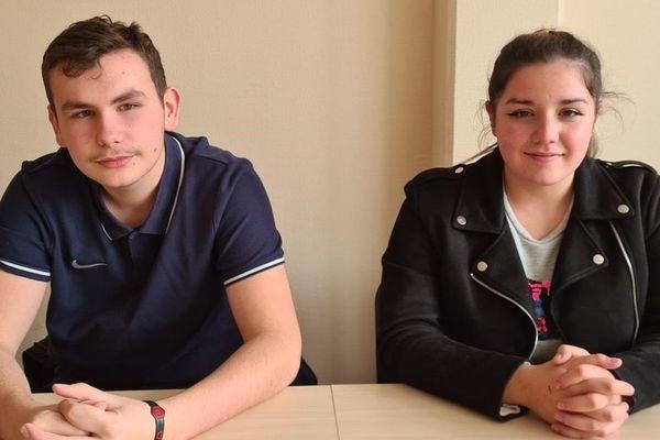 Elvan et Béatriz sont élèves au lycée Louis Guilloux de Rennes. Ils font partie des 152 nouveaux élus du Conseil régional des jeunes.