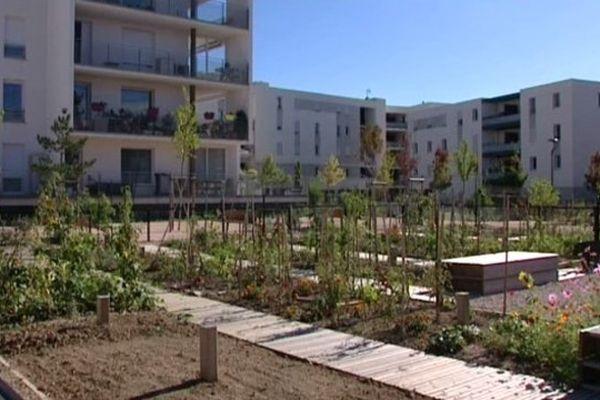 Jardins de l'éco-quartier du Vidailhan